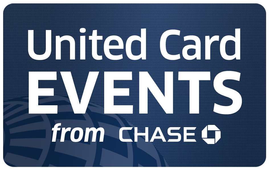 United Card Events, United MileagePlus, Chase